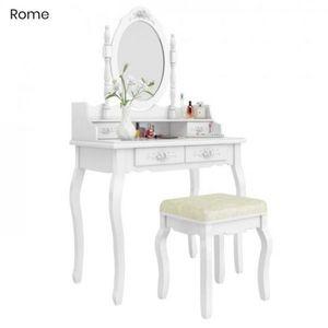 Toaletný stolík s taburetkou- Rome vyobraziť