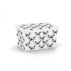 Plastový úložný box KIS C ANIMAL XL - kravičky vyobraziť