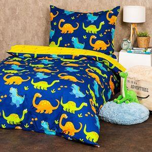 4Home Dětské bavlnené obliečky Dino, , 140 x 200 cm, 70 x 90 cm vyobraziť