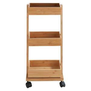 Bambusový trojposchodový vozík Wenko Tortona vyobraziť