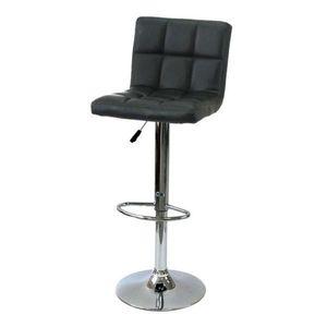 Barová stolička Arako - čierna vyobraziť
