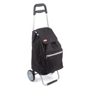 Aldo Nákupná taška na kolieskach Cargo, čierna vyobraziť