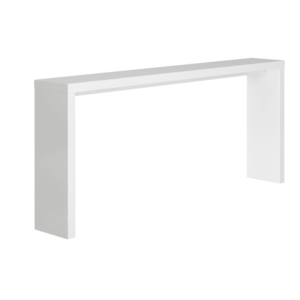 Konzolový stolík, biela, FITRON vyobraziť