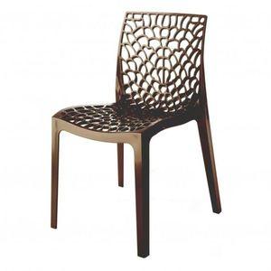 Sconto Jedálenská stolička GRUVYER hnedá vyobraziť