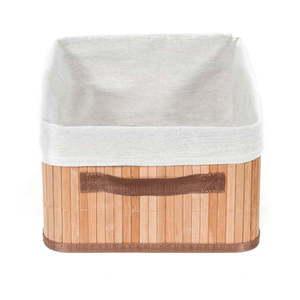Hnedý úložný bambusový kôš Compactor Carossa vyobraziť